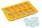 Soft Silicone Cake Mold Chocolate Mould Jelly Tray Ice Cube