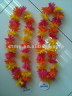 HAWAIIAN FLOWER LEI NECKLACE GARLAND HULA STAG HEN DO FESTIVAL BEACH PARTY FANCY