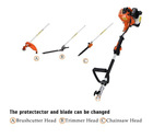 4 in 1 multifunction garden tool set brush cutter 26cc/43cc/33cc/49cc