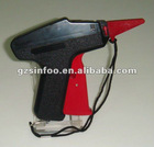 Durable super long tag gun for garments