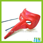 Red Venice Extra Long Nose Nasone Mask