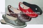 soft pu upper comfortable lady shoes pu outsole