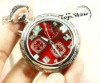 Unique Pocket Watch With Flashing Light Dial D00606o