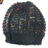 KNITTING HAT WITH MULTI COLOR