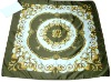 Islamic luxury silklike square kerchief
