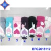 2012 Fashion Heart Jacquard Acrylic Cotton Knitted Gloves