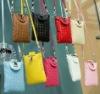 bamboo pattern wallet unique design mini bag for cellphone