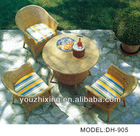 outdoor furniture / rattan dinning set /PVC dining table