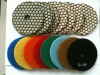 Dry honey type polishing pad