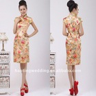 fashionable Chinese Favor Cheongsam