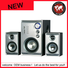2.1 Channel Multimedia Speaker System for TV/Computer/MP3