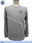 Men's basic vintage round neck sweatshirt