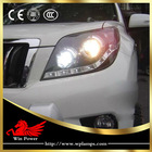 FJ150 Toyota Prado 2010 angel eyes headlights Bi-focal lens