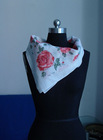 Lady's 70%Cotton 30%Silk scarf