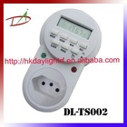 Brazil heavy duty LCD weekly digital timer switch(plug)