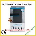 Double USB Output Power Bank with 10000mAH