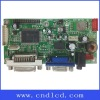 Controller board for LCD monitor with VGA/DVI/Full HD