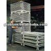 Stackable and foldable wire mesh cage