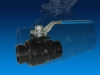 Grooved End Ball Valve 1000WOG Mount Pad Ductile Iron Reduced Port 2inch 3inch 4inch-ZHENGQIU VALVE