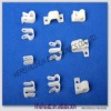 white cable clamp