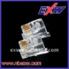 RJ11 Connector 4P4C 4P2C transparent
