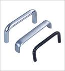 black zinc alloy round shape handles