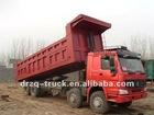 6*4 howo mining dump truck