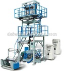 A+B+A Automatical Dual Purpose ldpe hdp blown film machines/lines, Multi-layer blown plant with screw L/D of 28/1,100kg/h Output