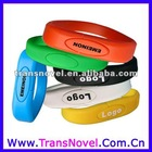 Colorful Silicon USB Bracelet Kids Free Logo CE