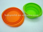 foldable bowl, food grade silicone bowl