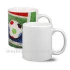 Hot selling 11oz White Coated Ceramic Mugs Sublimation Blanks