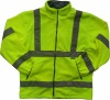 High visibility safety fleece jacket