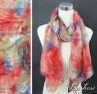 fashion colorful fall scarf 2012