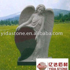 Granite monument with angel