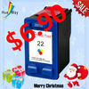 Promotion!! Compatible for hp 22 in promotion special offer ink cartridge as a gift for Christmas