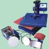 heat coated machine/Heat press machine 8 in 1,6 in 1