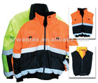 ANSI 3 Two-Tone Reflective Reversible Jacket