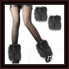 Faux Fur Lower Leg ankle warmer Boot Sleeves Cover