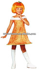sexy child pumpkin festival Halloween costume 026