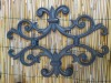 wrought iron&cast iron decorated ornaments