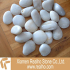 landscaping white pebbles