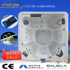 Super popular family outdoor mini hot tub from chinese factory