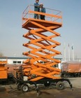 small electric scissor lift HQY