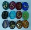 zodiac sign accessories glass beads