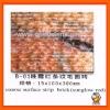 Coarse surface strip brick ,marble mosaic MM07