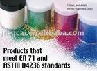 poly flake glitter : 20gram glitter jar