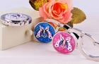Fashion Crystal butterfly Bag Hanger Hook for Girls