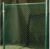 PVC coated chain link fence for temporary fencing