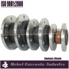 DIN/BS/JIS/ANSI/ASA standard flanged heavy duty rubber expansion joint