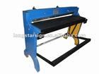 Foot pedal metal cutting machine